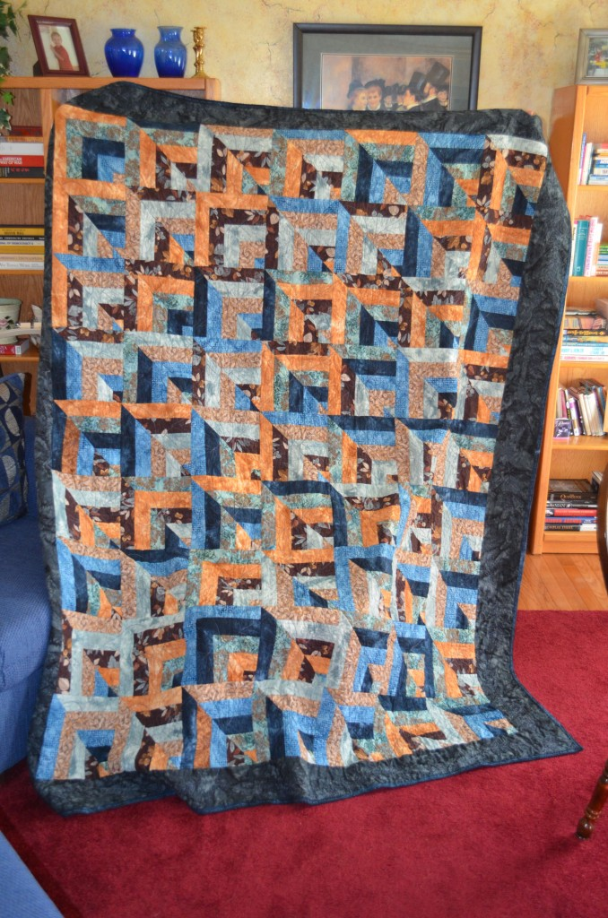 "My ""Five Yard Quilt"" that turned out to be an ""Eight Yard Quilt"""